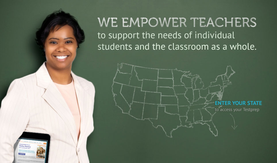 WE EMPOWER TEACHERS to support the needs of individual students and the classroom as a whole.